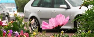 Parkeringsplatser i Falun